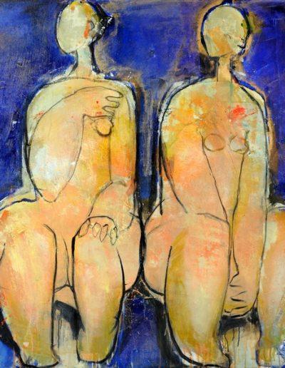 Christianne Knops - Les baigneuses - 1,10m - 1,20m