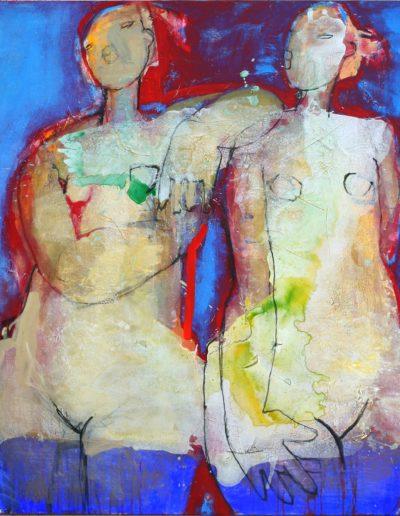 Christianne Knops - Copines en bleu - 1,10m - 1,20m