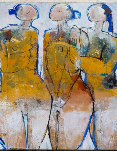 Christianne Knops - Trois petites femmes - 1,10m - 1,20m