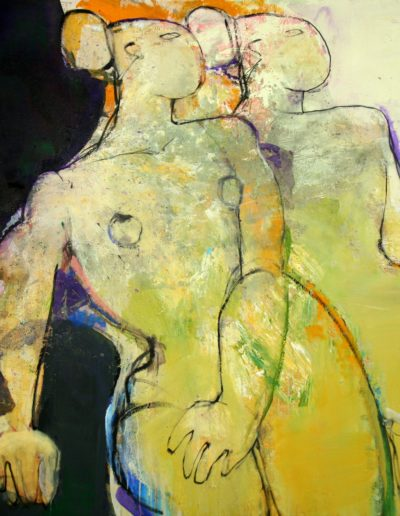 Christianne Knops - Miroir - 1,10m - 1,20m